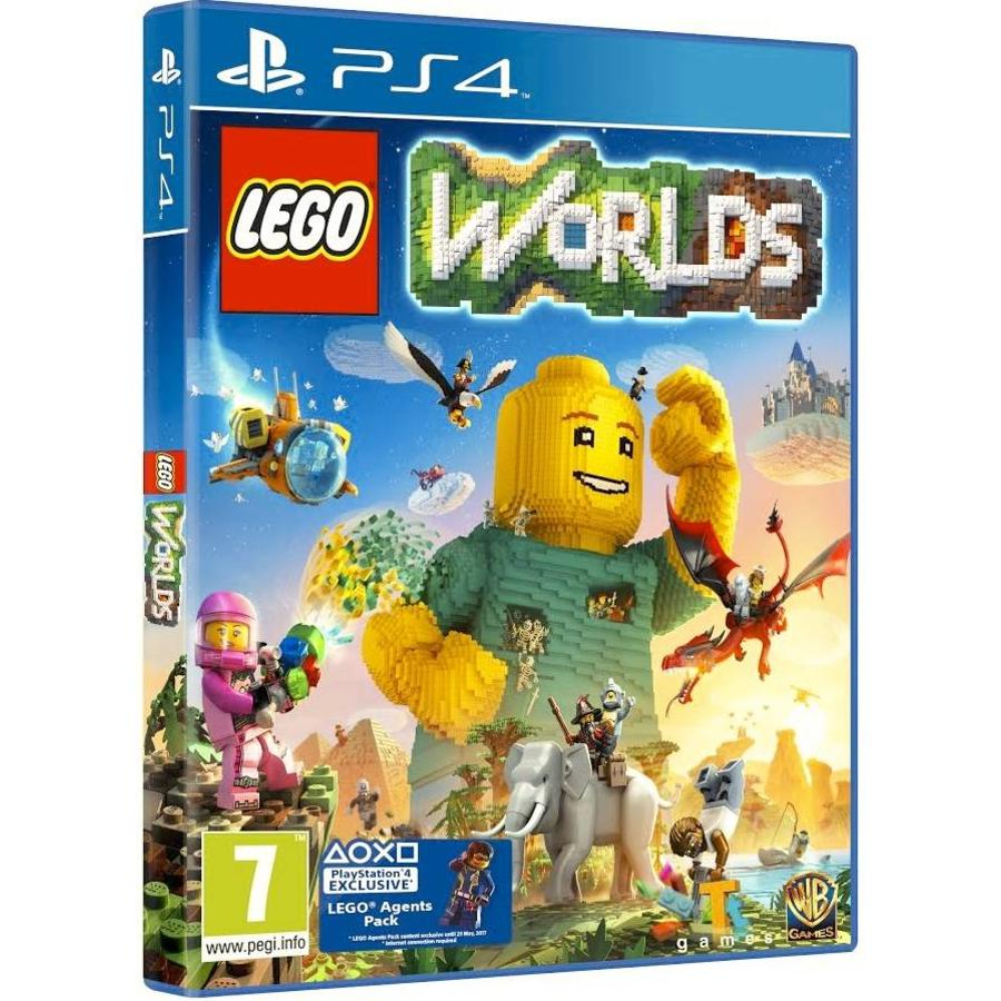 Lego Worlds + DLC - Playstation 4