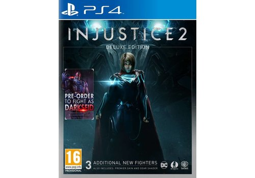 Injustice 2 Deluxe Edition - Playstation 4
