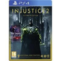 Injustice 2 Ultimate Edition + Steelbook - Playstation 4