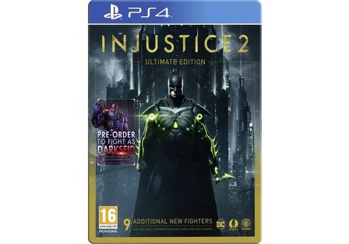Injustice 2 Ultimate Edition + Steelbook - Playstation 4