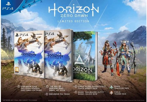 Horizon Zero Dawn Limited Edition - Plystation 4