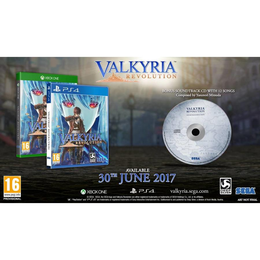 Valkyria Revolution (incl. Soundtrack CD) - Playstation 4