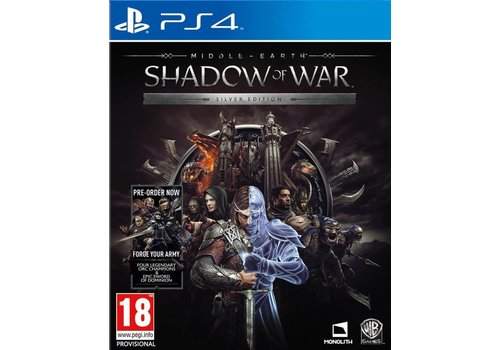 Middle-Earth: Shadow of war Silver Edition + DLC - PlayStation 4