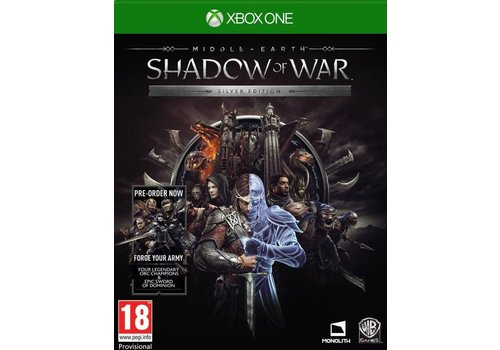 Middle-Earth: Shadow of war Silver Edition + DLC - Xbox One