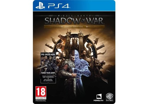 Middle-Earth: Shadow of war Gold Edition + DLC - PlayStation 4