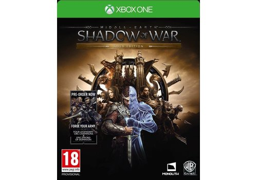 Middle-Earth: Shadow of war Gold Edition - Xbox One