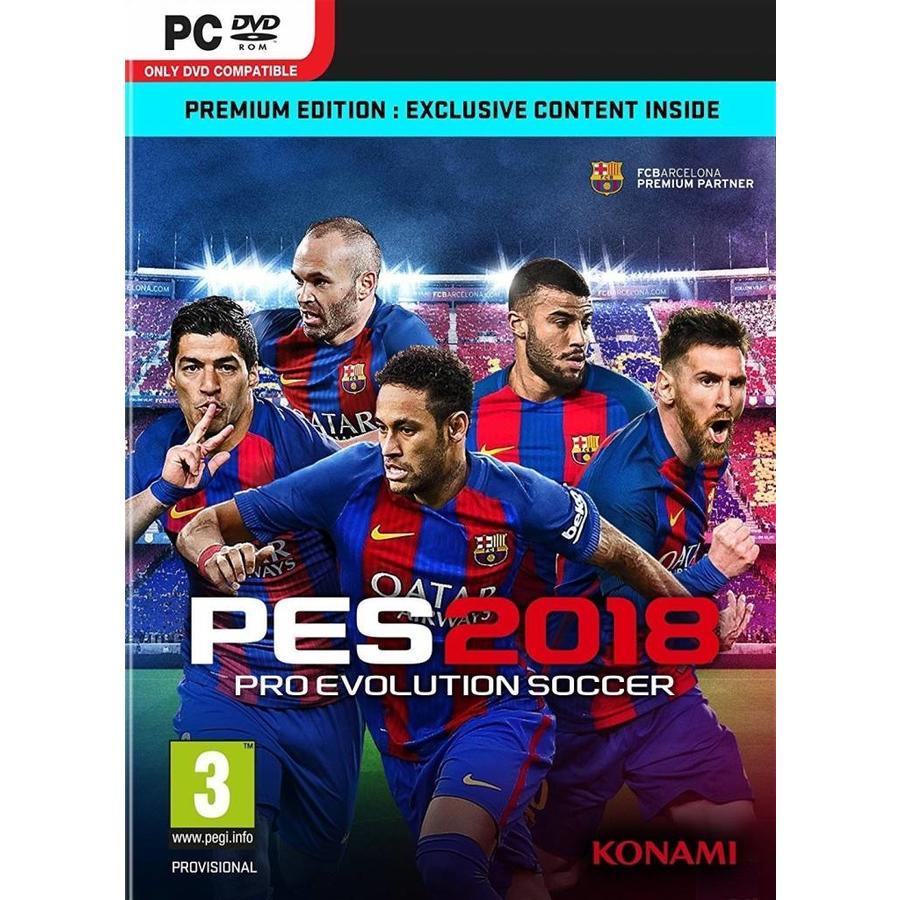 Pro Evolution Soccer 2018 Premium Edition - PC