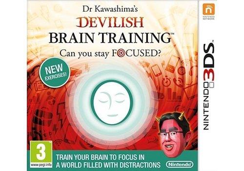 Dr. Kawashima Devilish Brain Training - Nintendo 3DS