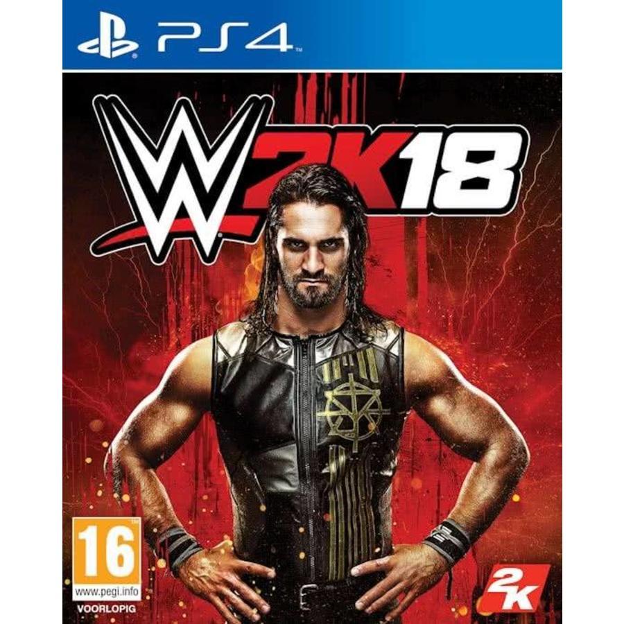 WWE 2K18 + DLC - Playstation 4