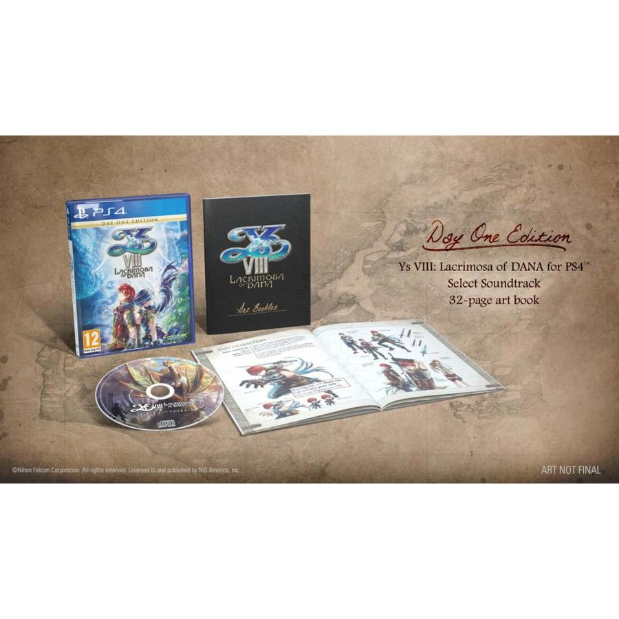 Ys VIII: Lacrimosa of DANA Day One Edition - Playstation 4