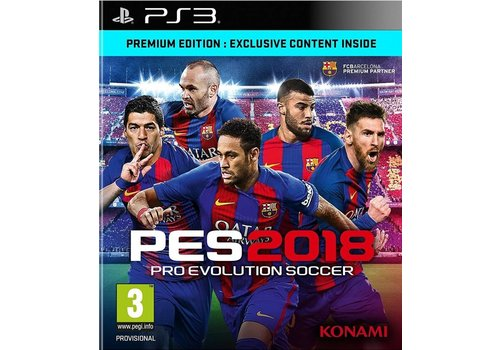 Pro Evolution Soccer 2018 - Playstation 3