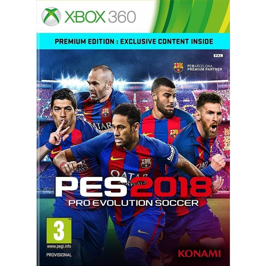 Pro Evolution Soccer 2018 - Xbox 360
