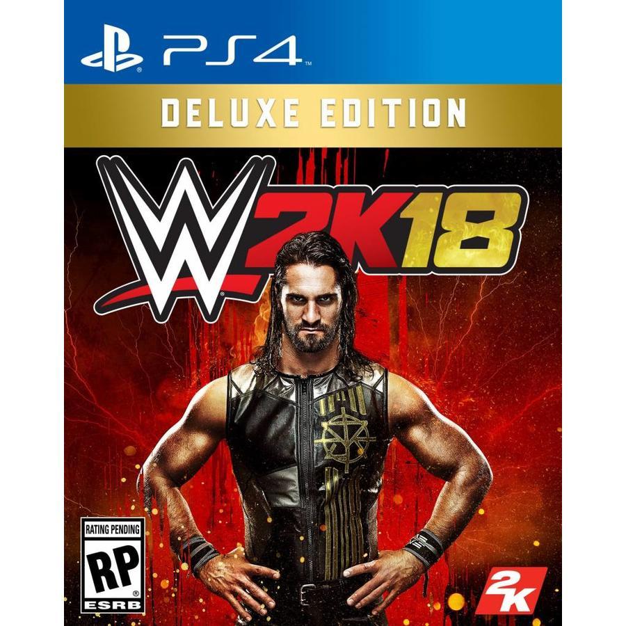 WWE 2K18 Deluxe Editie - Playstation 4