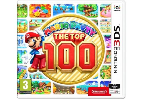 Mario Party The Top 100 - Nintendo 3DS