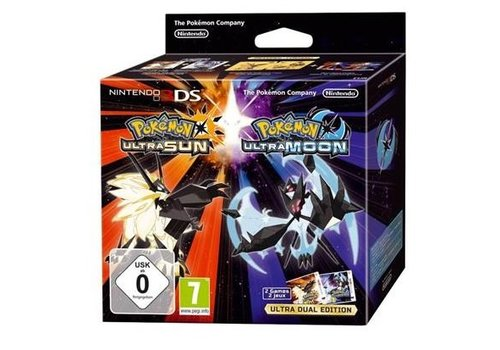 Pokemon Ultra Sun + Ultra Moon - Ultra Dual Edition - Nintendo 3DS