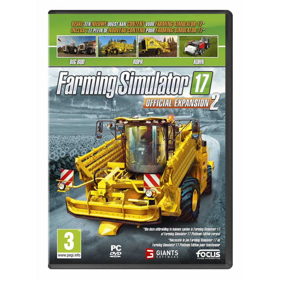 Farming Simulator 17 Expansion Pack 2 - PC