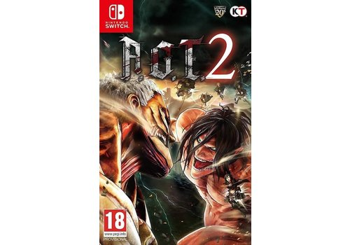 A.O.T. Attack on Titan 2 - Nintendo Switch