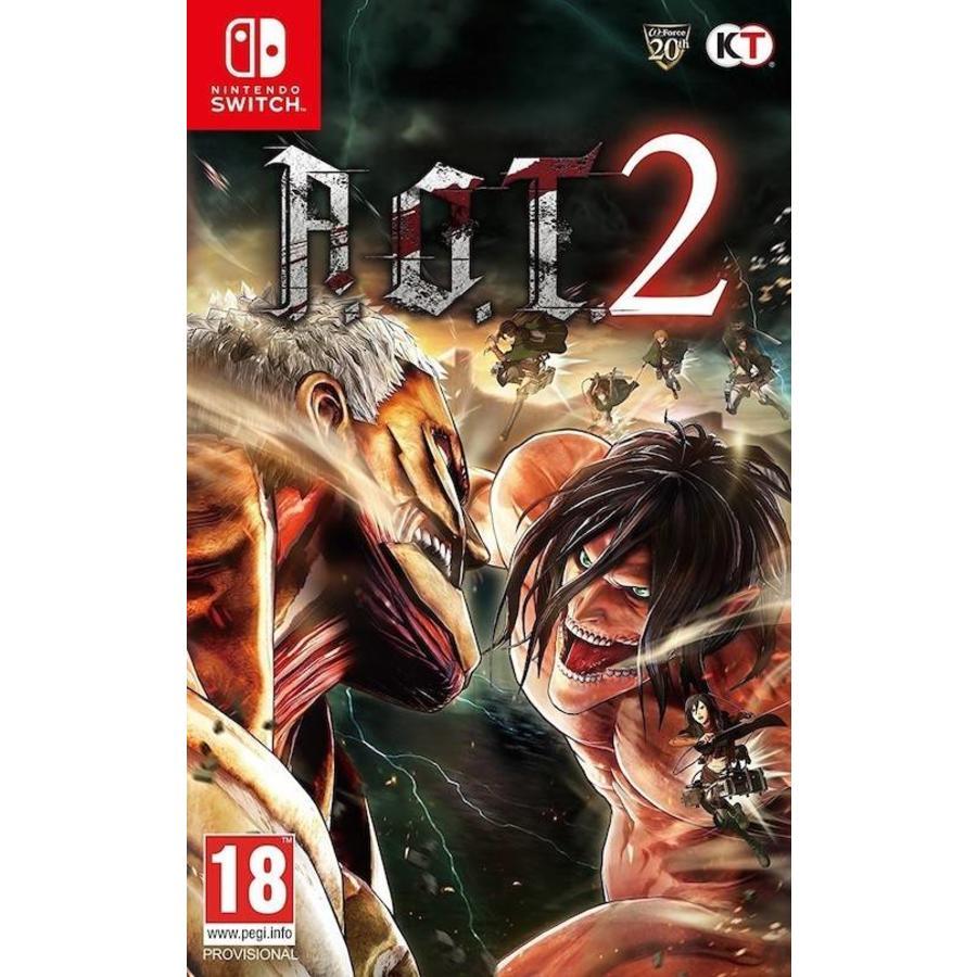 A.O.T. Attack on Titan 2 - Nintendo Switch