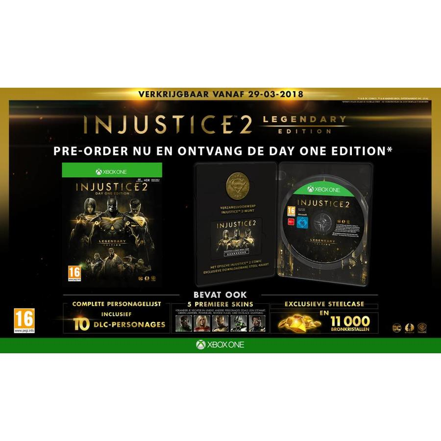 Injustice 2 Legendary Edition Day One - Xbox One