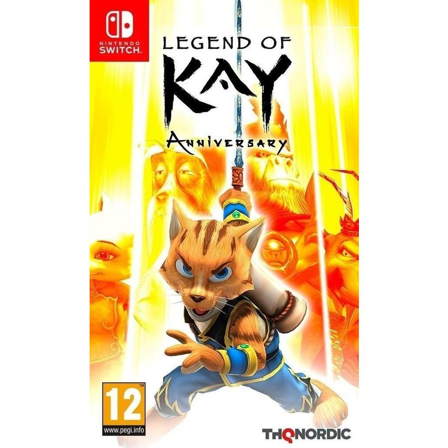 Legend of Kay Anniversary Edition - Nintendo Switch