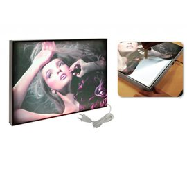 Maxi frame LED lightbox enkelzijdig 32 mm 841 x 1189 mm