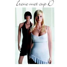 Mannequin Irene met cup D