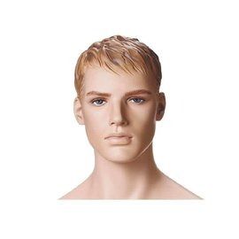 Mannequin Marvin Naturel met make-up