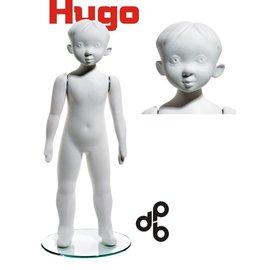 Hugo 3-4 jaar H87 cm WIT