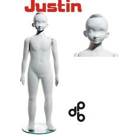 Justin 8 jaar H120 cm WIT