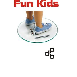 Voetplaat voor Fun Kid, 9 maand, 2-3 en 4-5 jaar