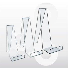 Acrylstandaard voor lederenwaren/mobiele tefefoon H18 cm