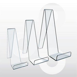 Acrylstandaard voor lederenwaren/mobiele tefefoon H9 cm