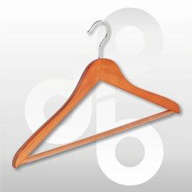 Blouse/shirt hanger Kersen 43 cm met ronde broeklat