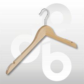 Blouse / shirt hanger vlak + rubber op de schou
