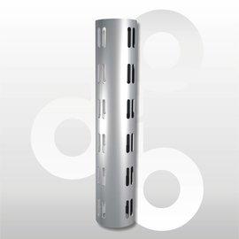 Wandstaander RAL 9006  60 mm H225 cm
