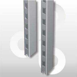 Staander 60 * 30 mm H240 zilvergrijs