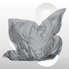 Zijdevloei vellen 17 gram formaat 50 x 75 cm GRIJS