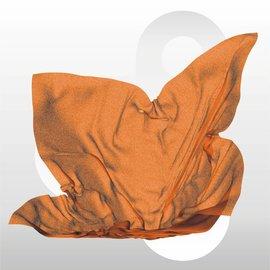 Zijdevloei vellen 17 gram formaat 50 x 75 cm ORANJE