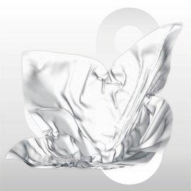 Zijdevloei vellen 17 gram formaat 50 x 75 cm WIT