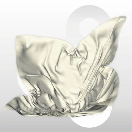 Zijdevloei vellen 17 gram formaat 50 x 75 cm IVOOR