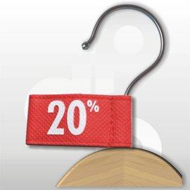 Label vaantje -20%