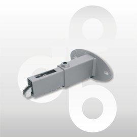 Wandafstandhouder verstelbaar ALU 6-10 cm