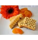Wafels abrikoos
