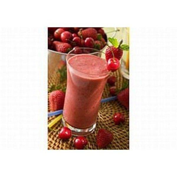 Yoghurt rood fruit