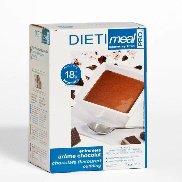 Shake/dessert chocolade