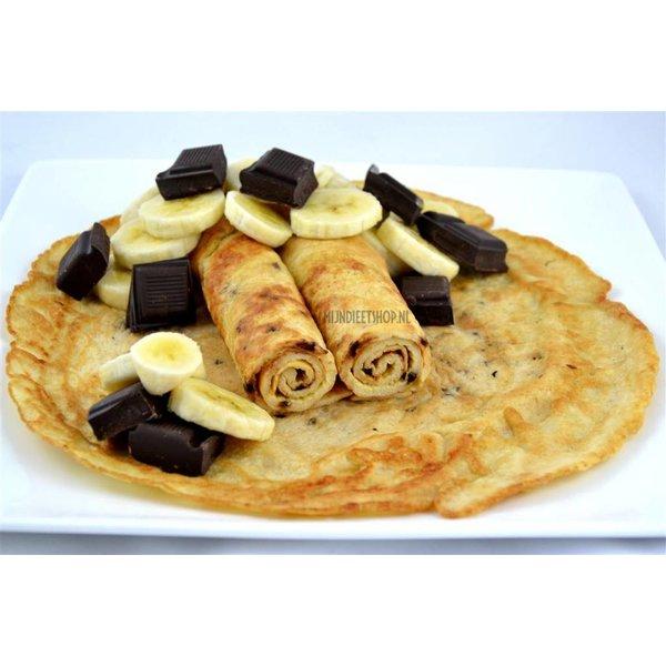 Pannenkoek Banaan-chocolade
