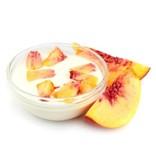 Perzik yoghurt - 4 stuks