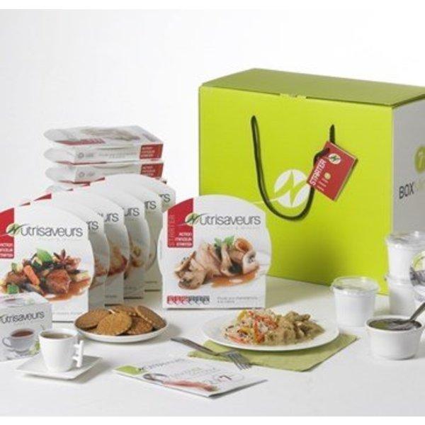 Startpakket Nutrisaveurs kant en klaar maaltijden voor 7 dagen