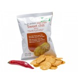 Proteine Soja Chips - Sweet Chili, 3 zakjes