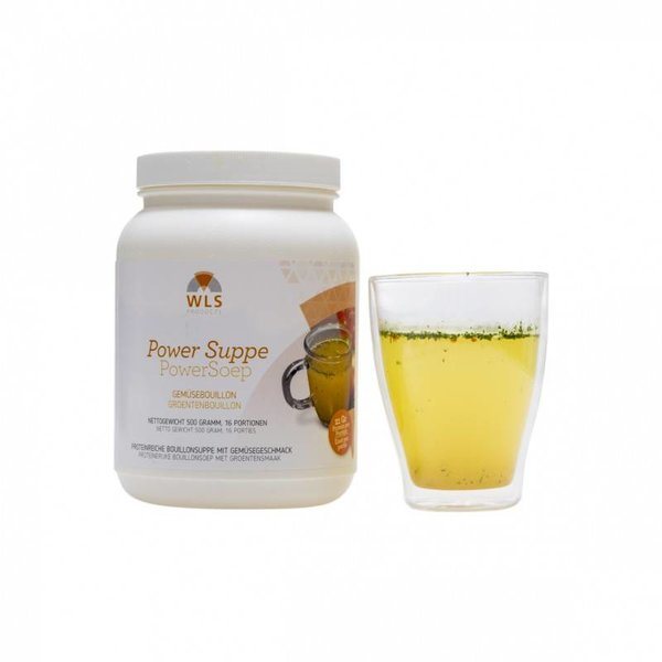 Proteine dieet - PowerSoep, Groentenbouillon, 16 porties